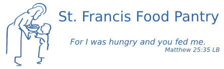 logo for Saint Francis food pantry